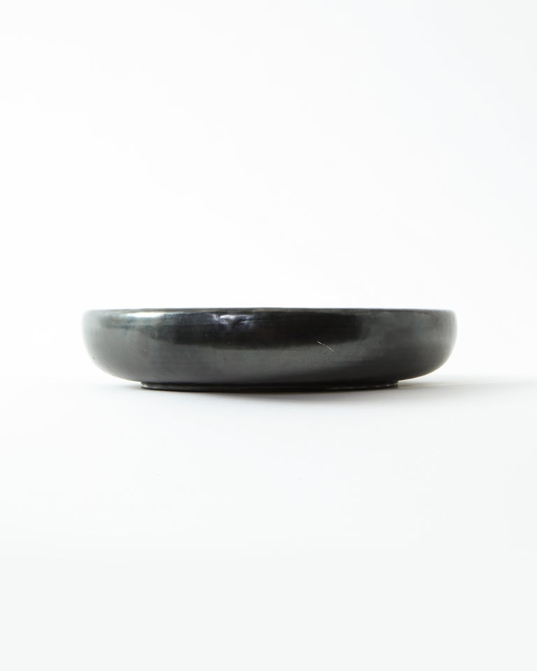 Wonderfully rich and subtle glaze. Excellent as decorative object to be used in all manner of ways. Marked Accolay.