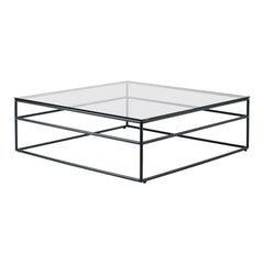 Black Coffee Table by Braid Outdoor