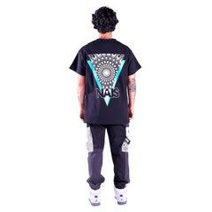 Black cotton Nais t-shirt NWOT
