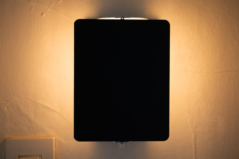 Mid-Century Modern Black CP1 Wall Sconce by Charlotte Perriand For Sale