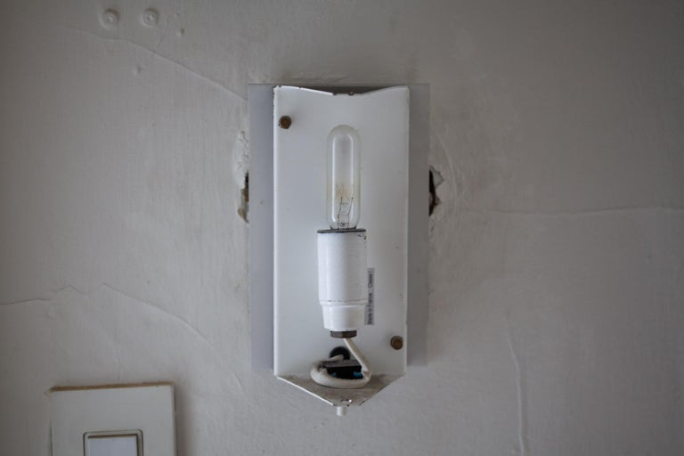 Mid-20th Century Black CP1 Wall Sconce by Charlotte Perriand For Sale