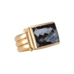 Black Diamond Checkerboard Ring