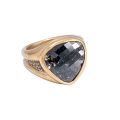 Black Diamond Kaleidoscope Ring
