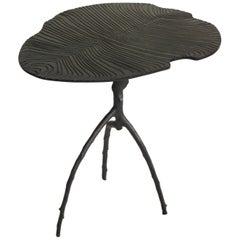 Black Dickinsonia Low Table in Bronze