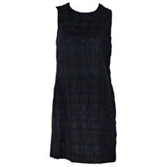 Black Dolce & Gabbana Lace Shift Dress