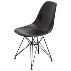Black Eames for Herman Miller Shell Chair on Eiffel Base