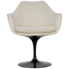 Black Eero Saarinen Armchair for Knoll International, 1960s