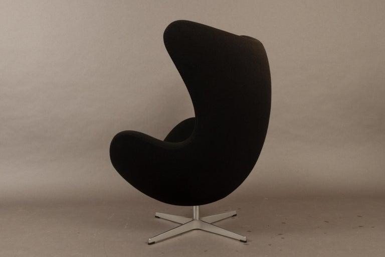Black Egg Chair 3316 by Arne Jacobsen for Fritz Hansen, 2007 3