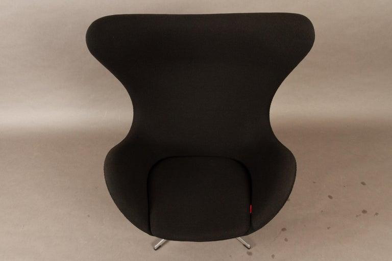 Black Egg Chair 3316 by Arne Jacobsen for Fritz Hansen, 2007 7