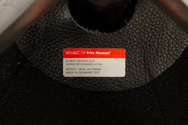 Black Egg Chair 3316 by Arne Jacobsen for Fritz Hansen, 2007 11
