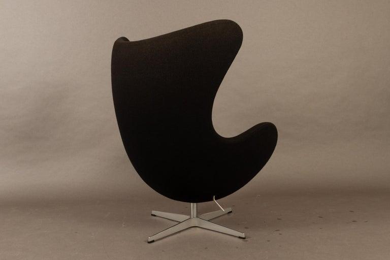 Black Egg Chair 3316 by Arne Jacobsen for Fritz Hansen, 2007 1