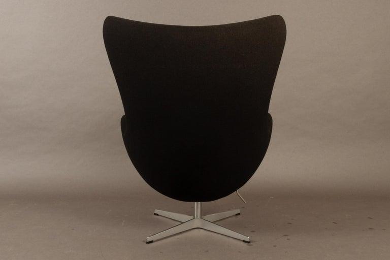 Black Egg Chair 3316 by Arne Jacobsen for Fritz Hansen, 2007 2