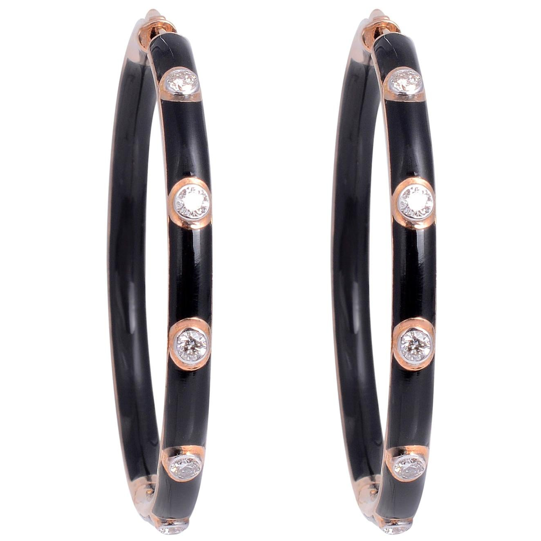 Meghna Jewels Hoop Earrings