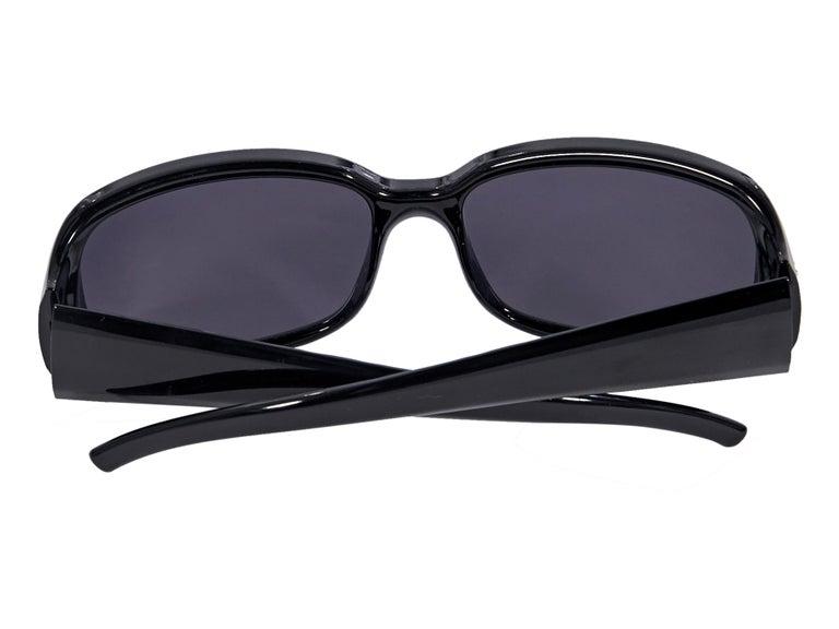 Women's Fendi Black Rectangular Sunglasses