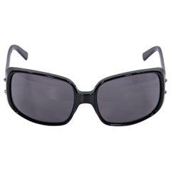 Black Fendi Rectangular Sunglasses
