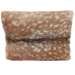 Black Forest Austrian Cushion Red Deer Fur Sofina Boutique Kitzbühel