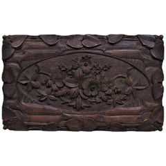 Black Forest Carved Box