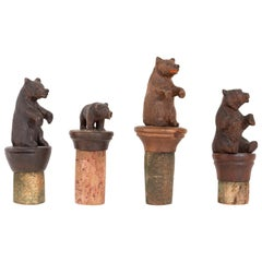 Black Forest Carving Cork Stoppers