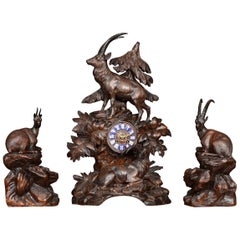 Black Forest Clock Set