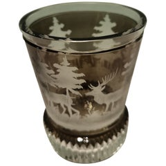 Black Forest Crystal Latern Hand Blown Hunting Decor Sofina Boutique Kitzbühel