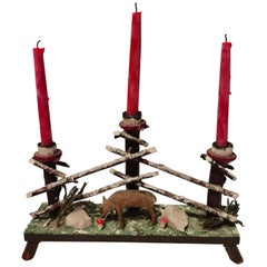 Black Forest German Candleholder