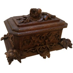 Black Forest Hinged Table Box