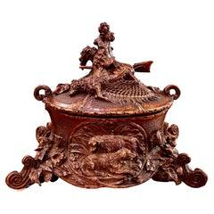 Black Forest Jewelry Casket, 19th Century