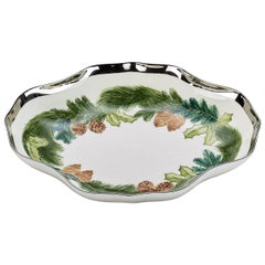 Black Forest Porcelain Dish Christmas Garland Sofina Boutique Kitzbuehel