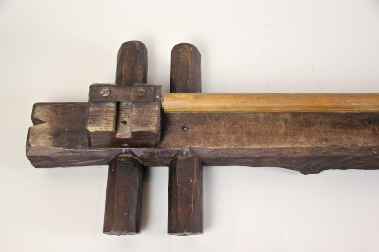 Black Forest Rustic Curtain Rods Hand, Rustic Curtain Rod Ends