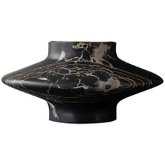 Black Gamma Candleholder by Frederic Saulou