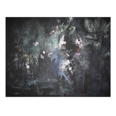 Black Garden Wallpaper