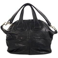 Black Givenchy Leather Nightingale Satchel