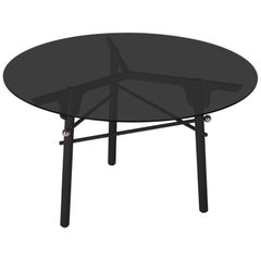 Black Glass Table by Arik Levy