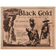 """""""Black Gold"""" 1928 U.S. Title Card"""