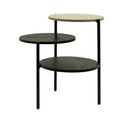 Black & Grey Triplo Table by Martina Bartoli