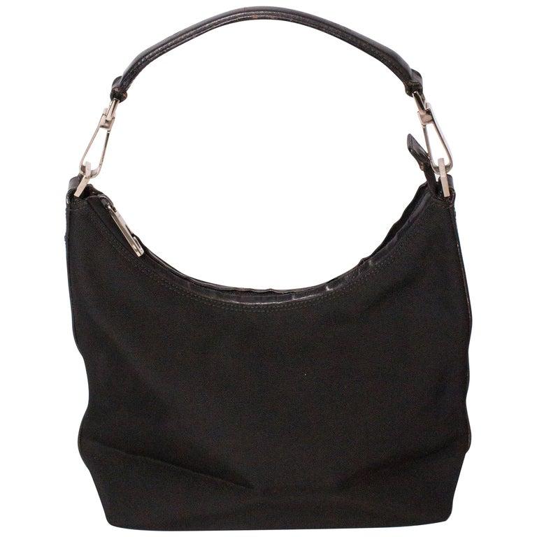 Black Gucci Shoulder Bag For Sale