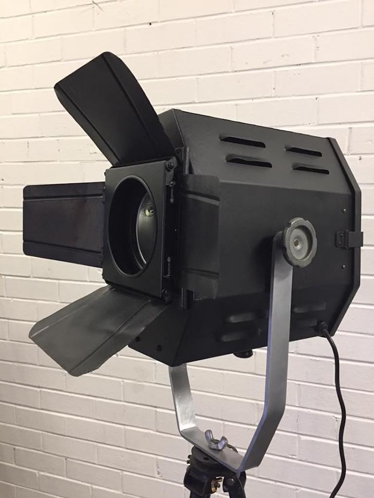 Black Hexagon Shaped Strand Vintage Movie Light 1940s For Sale At 1stdibs