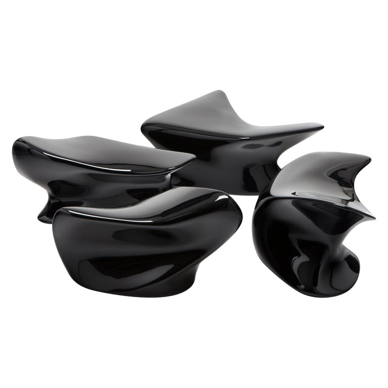 Zaha Hadid for Established & Sons Nekton stools, new