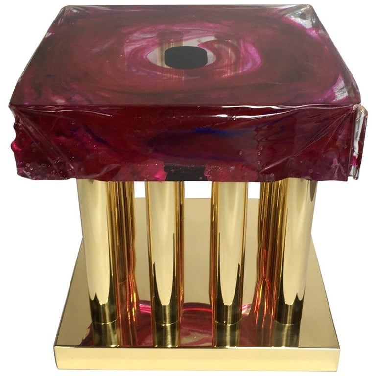 Coffee Table Black Hole Model  by Studio Superego, Italy For Sale