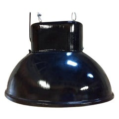 Black Industrial Vintage European Original Steel Pendant Lamp