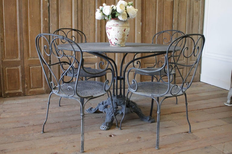 Patio Outdoor Table And Chairs At 1stdibs