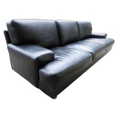 Black Italian Sofa by B&B Italia