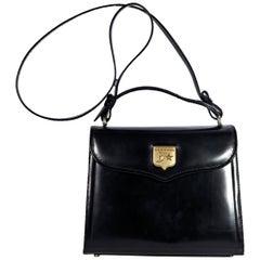 Keiselstein Leather Black Crossbody Bag