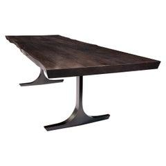 Black Knight Base Dining Table By Barlas Baylar