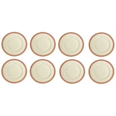 Black Knight Celeste Salad Plates Set of 8
