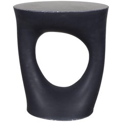Black Kreten Side Table from Souda, Short, Made to Order