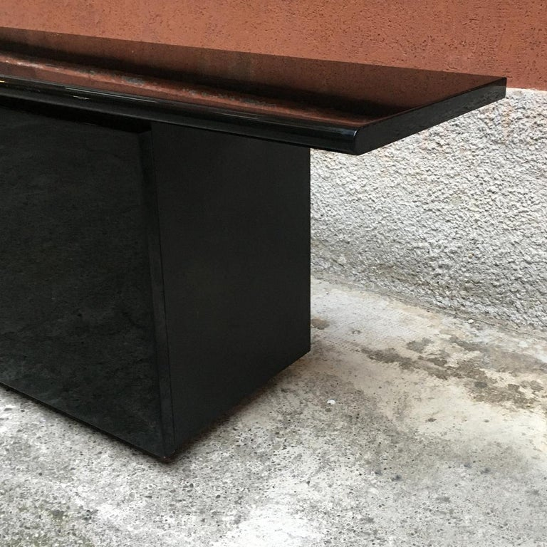 Black Lacquered Sheraton Sideboard by G.Stoppino and L.Acerbis by Acerbis, 1977 3