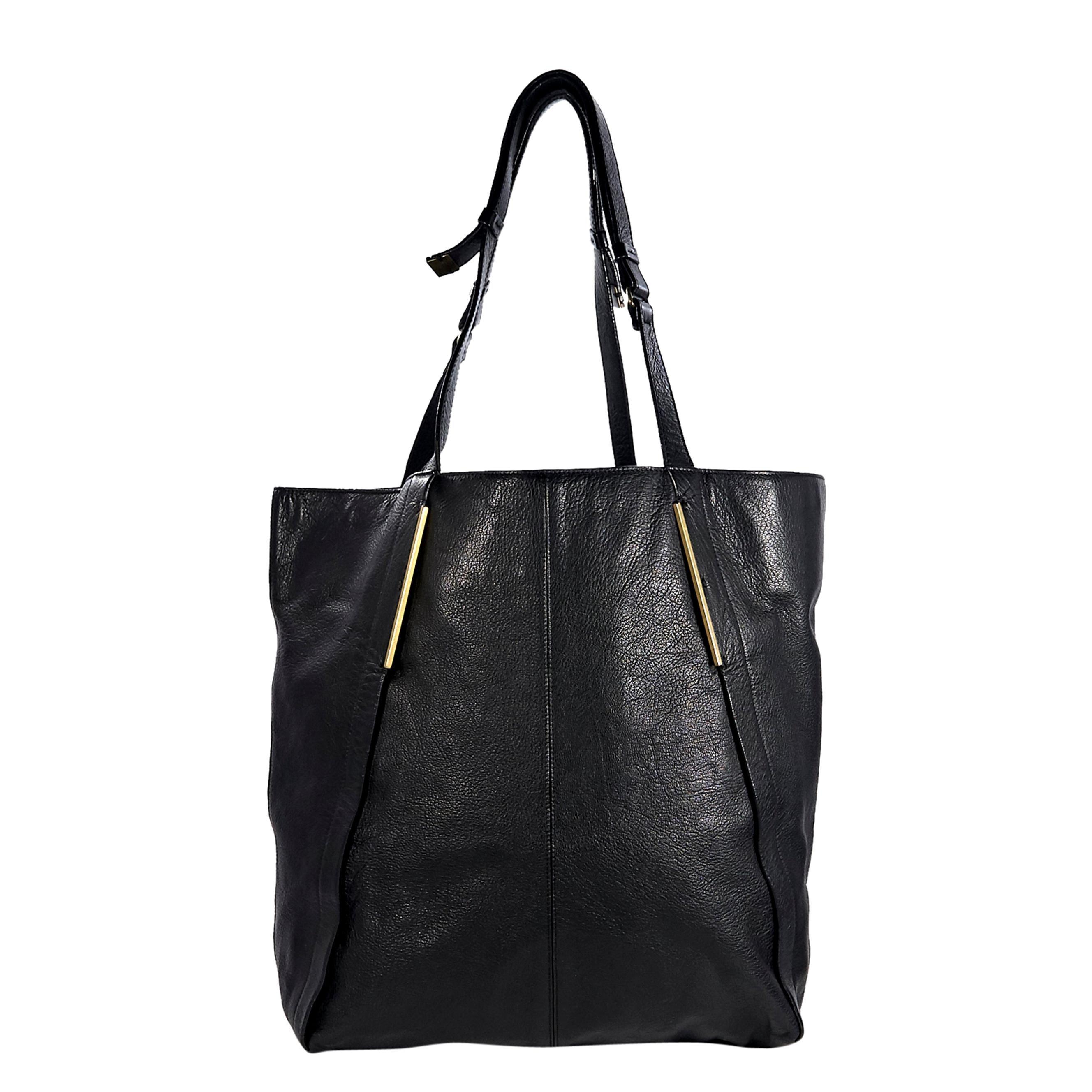 dcdf13706 Lanvin Trilogy Women Tote Bag black-cream LAN001-BKCR For Sale at 1stdibs
