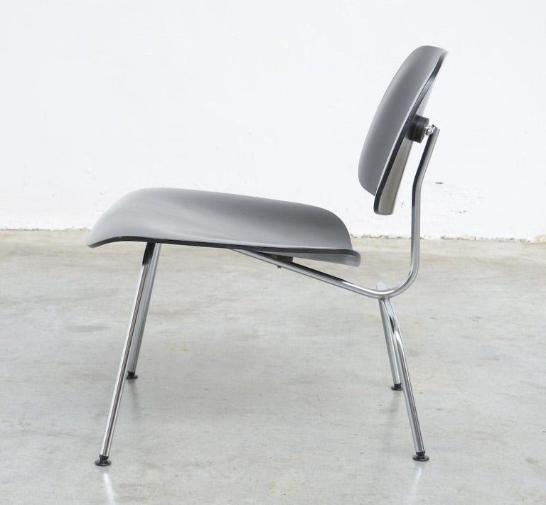 Black Lcm Chairs By Charles And Ray Eames For Herman