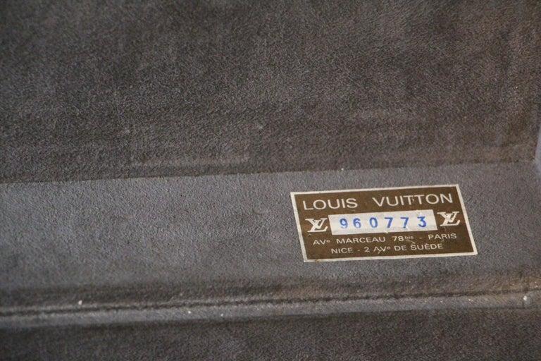 Black Louis Vuitton Alzer 65 Suitcase Louis Vuitton Suitcase Louis Vuitton Trunk For Sale 8